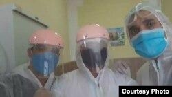 Таджикские врачи. Архивное фото