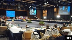 اجلاس شرم الشيخ در سطح وزرای امور خارجه کشورهای همسايه عراق، پنج کشور عضو دائم شورای امنيت و ديپلمات های ۵۰ کشور جهان برگزار می شود و به مدت دو روز ادامه خواهد داشت.