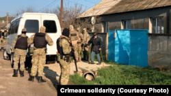 Обыск в доме Эльдара Фетляева, 22 апреля 2021 года