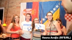PHOTO GALLERY: Cheering For The Neighbors In Belgrade