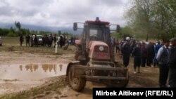 Наводнение в Таласской области, 20 мая 2012 года.