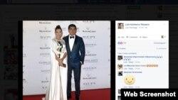 Скриншот страницы Лолы Каримовой-Тилляевой в социальной сети Facebook.