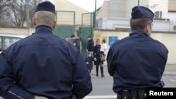Policia në vendin e ngjarjes në Tuluz.
