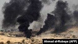 منطقه العیاضیه آخرین سنگر نیروهای داعش در تلعفر عراق بود.