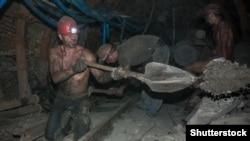 Вугыльна шахта на Донеччині, 2013 рік