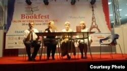 Imagine de la lansarea cărții la Bookfest 2012