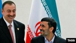İlham Əliyev və M. Əhmədinejad