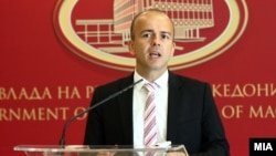 Архивска фотографија: Министерот за финансии Драган Тевдовски