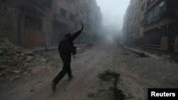 Сирия. Дамаск. 2-апрель, 2014-жыл.