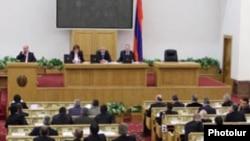 Armenia - A general view of the Armenian Parliament, undated