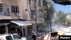 Racheta lansată din Gaza a ucis un bărbat de 50 de ani care se afla în locuința lui. Ramat Gan, Tel Aviv.