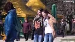 «Крим – це Україна» – гасло у Сімферополі на акції вшанування Тараса Шевченка