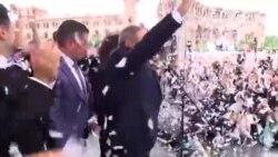 Армения празднует избрание лидера протестов премьер-министром страны