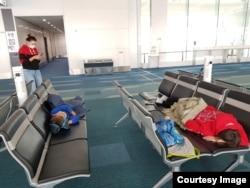 В аэрпорту Токио