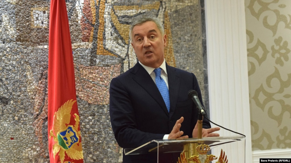 Former Montenegrin Prime Minister Milo Djukanovic (file photo)