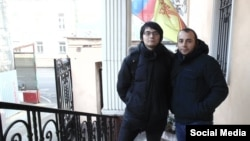 Джемалеттин Йавуз (справа) с аспирантом Чувашского государственного университета Александр Савельевым
