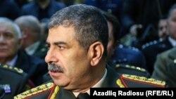 Министр обороны Азербайджана Закир Гасанов (архив)