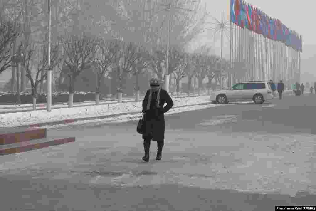 Бул жылы Кыргызстанда адаттан тыш суук кыш өкүм сүрүүдө.