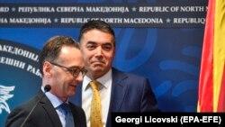 Hejko Mas i Nikola Dimitrov u Skoplju