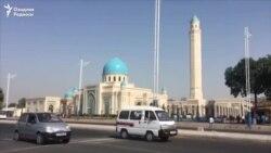 Первая пятничная молитва в мечети имени Ислама Каримова