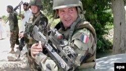 NATO troops on patrol in Afghanistan