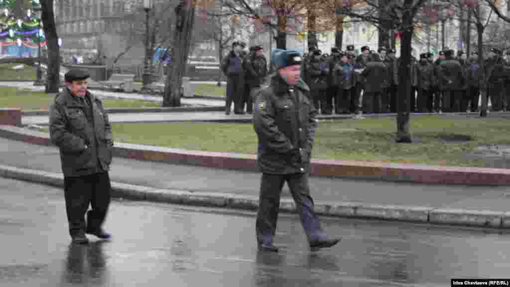 Театральна площа у Москві.