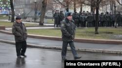 Улицы Москвы в день выборов
