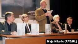 "Robert Donia na promociji knjige ""Iz Skupštine Republike Srpske 1991-1996"""