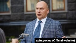 Виконувач обов'язків голови Фонду Держмайна Віталій Трубаров