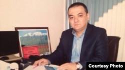 Представитель МВД Кыргызстана в России Аскат Алиев.