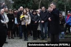 На акції у Празі, 21 лютого