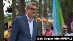 EU Ambassador to Georgia Carl Hartzell (file photo)