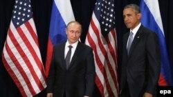 Vladimir Putin i Barak Obama