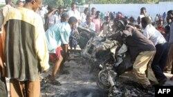 од неодамнешните напади на терористичката група во Сомалија