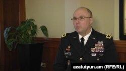 Командующий Национальной гвардией американского штата Канзас, генерал-майор Ли Тафанели