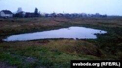 Іншае раней вялізнае возера ў Давыд Гарадку