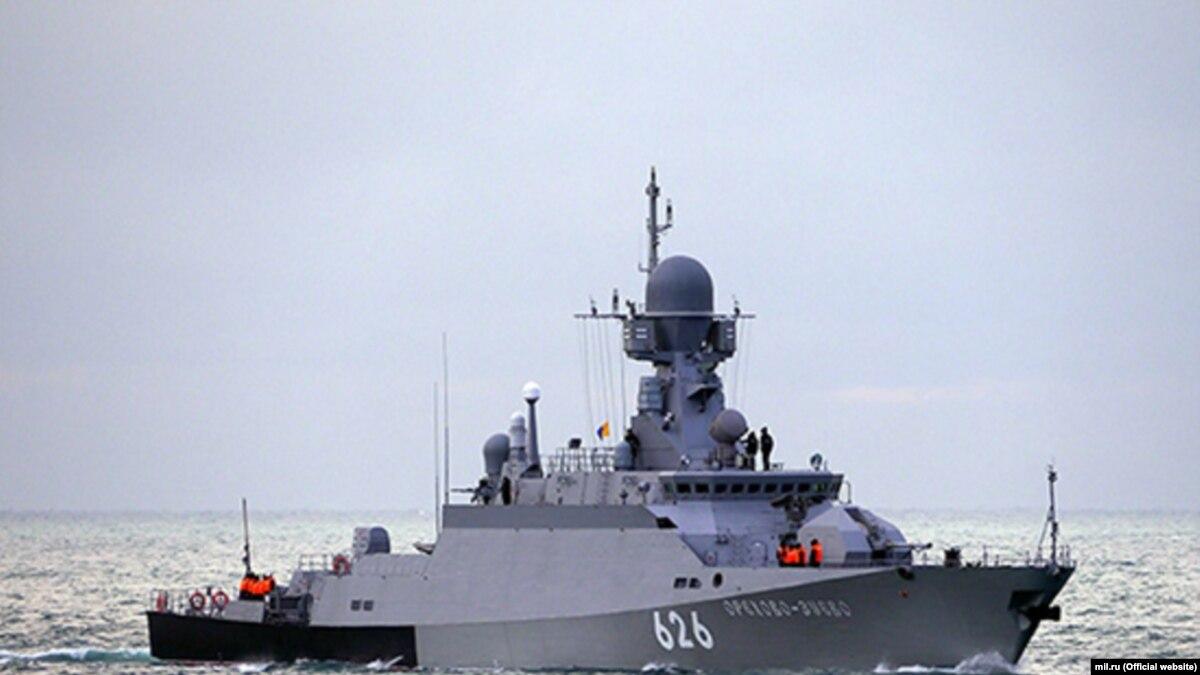 Россия провела учения в Черном море с участием корабля Черноморского флота и береговых комплексов «Бал»