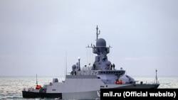 У Міноборони Росії зазначили, що навчальний бій пройшов без фактичного застосування ракетної зброї