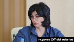Елена Проценко, отставная глава российской администрации Симферополя