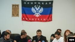 Cпівголова «уряду Донецької народної республіки» Денис Пушилін