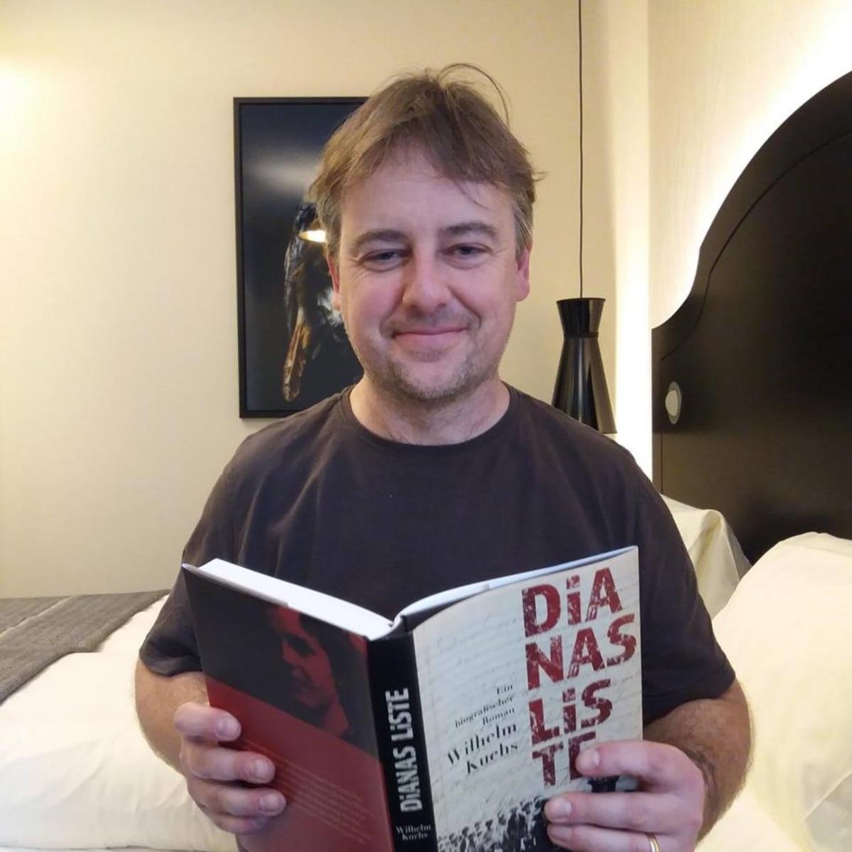 Wilhelm Kuehs, autor knjige o Diani, ustupljena fotografoja