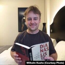 """Wilhelm Kuehs, autorul cărții """"Lista Dianei"""""""