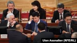 Темир Сариев баштаган өкмөт мүчөлөрү