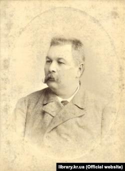 Марко Кропивницький (1840–1910). Світлина з 1890-х років