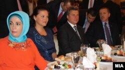 Претседателот Ѓорге Иванов на Ифтар вечера со турскиот премиер Реџеп Таип Ердоган Истанбул, Турција.