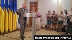 Голова Верховної Ради Володимир Рибак, Київ, 5 липня 2013 року