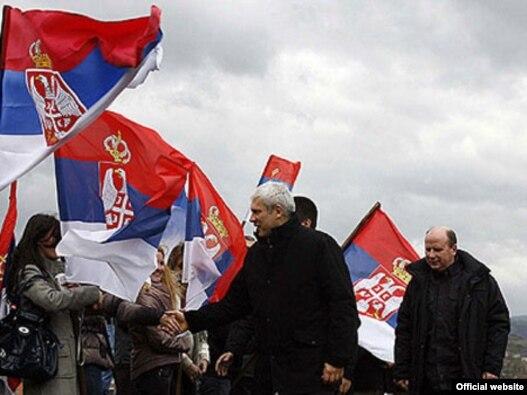 Boris Tadić u poseti Novom Pazaru, 22. novembar 2010. Fotografija: zvanični sajt Kancelarije predsednika Srbije