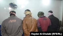 عدد من المعتقلين في محافظة بابل