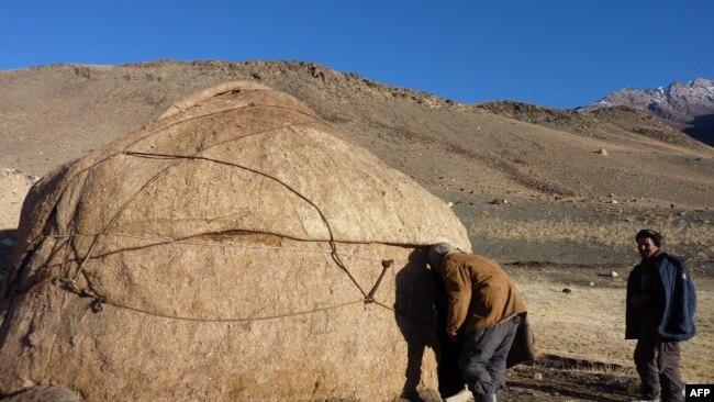 Кыргызы, живущие в афганском Вахане