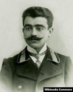 Yusif Vəzir Kiyevdə tələbə olarkən, 1911